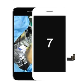 Cell Phone Digitizer Iphone NZ - Grade A+++ LCD display assembly replacement for Iphone 7 glass frame with touch screen digitizer assembly for cell phone screen