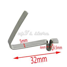 50 Button clip pezzi unici 3mm / 4mm / 5mm / 6mm / 7mm / 8mm / 9 millimetri Kayak Paddle Snap Primavera Tenda clip Pole Clips in Offerta