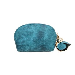 Wholesale Women PU Leather Small Mini Wallet Flap Holder Zip Coin Purse Clutch Handbag Floral Zipper Day Clutches Soft Hobos Wallets