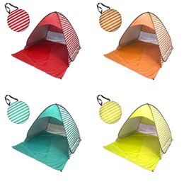 Gazebo campinG online shopping - Pop Up Canopy Tent For Outdoor Beach UV Protection Shelters Portable Mini Suit Person Gazebo Camping Useful Equipment hy ZZ