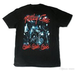 Tienda de camisetas en línea Hombres de Motley Crue Girls Band Imagen para  hombre cuello redondo divertido camiseta de manga corta 59577d2abce90
