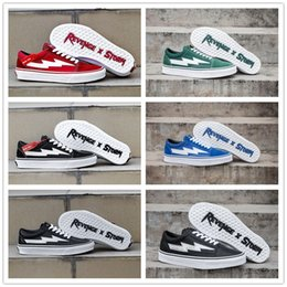With Box 2018 Lovers Casual Canvas Sneakers Originals Revenge x Storm Old Skool x Lightning Scratch Classic Low Cut Canvas Board Shoes cheap sale visa payment latest sale online cheap fast delivery cheap big discount wV3bFfdA