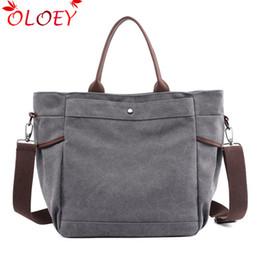59be6c4154 Grey Hobo Bags Australia - Fabra New Vintage Woman Canvas Handbags Casual  Tote Women Shoulder Bag