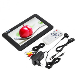 Tv porTable Televisions online shopping - LEADSTAR Inch DVB T2 TV Portable Digital HD TV x480 And Analog Television Receiver support TF Card And USB Audio Video New