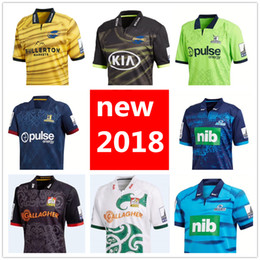 5de545466 2018 2019 New Zealand Club rugby jerseys Highlanders Chiefs blues  Hurricanes home away SUPER RUGBY League shirt s-3xl