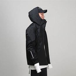 Button trench coat men online shopping - Men s Windbreakers Kanye West Fear of God Trench Coat Man s Raincoat Justin Bieber Hip Hop Man Jacket Casual Thin Men s Coat