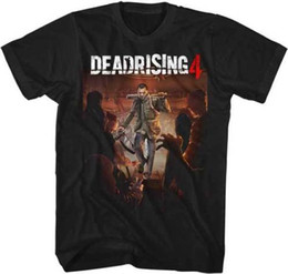 l video UK - Dead Rising 4 Capcom X Box 360 Video Game Frank West With Bat Adult T Shirt Comfortable t shirt Casual Short Sleeve Print 100% Cotton