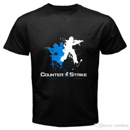 Game counters online shopping - New COUNTER STRIKE Logo Famous Online Games Men s Black T Shirt Size S to XL