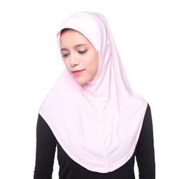 $enCountryForm.capitalKeyWord UK - Muslim Women Inner Hijab Headscarf Cap Islamic Full Cover Hat Underscarf Headwear Shawl