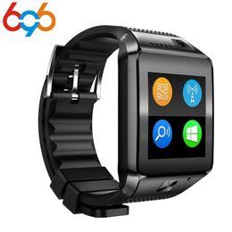 6f04a41f607d32 696 DZ09 Plus Smart Watch MTK2502 1.54 TFT Touch Smartwatch Phone Wrist Smart  Watch Video Radio Support TF SIM Card