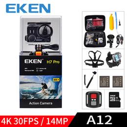 $enCountryForm.capitalKeyWord Australia - wholesale A12 Ultra HD 4K 30FPS WIFI Action Camera waterproof 14MP 1080p 60fps H7pro Ambarella go underwater extreme pro sport cam