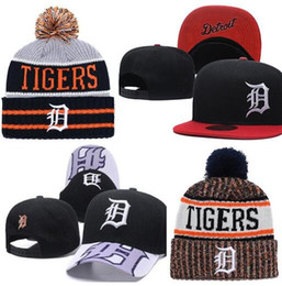 ecc9479374f64 2019 Tigers Hat Snapback Champions Tigers beanie All Teams Men women  Knitted Beanies Wool Hat Man Knit Bonnet Beanie Gorro Warm Cap