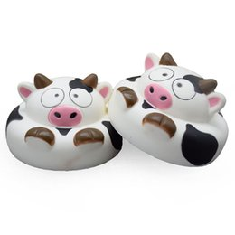 $enCountryForm.capitalKeyWord NZ - The Cute Jumbo milk cow squishy Relaxation Slow Rising milk cow squishies kawaii gift animals squishy