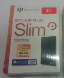 2018 Seagate Backup Plus neues Farce 2 TB HDD extern tragbares externes Festplattenlaufwerk USB 3.0 HDD 2 TB Freies Verschiffen