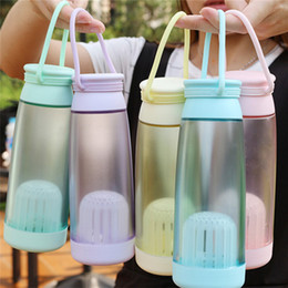 $enCountryForm.capitalKeyWord NZ - New Bicycle kettle Portable Water Cup Leak Tight Fruit Juice Sport Travel Bottle Water Cup Eco-friendly #2S12