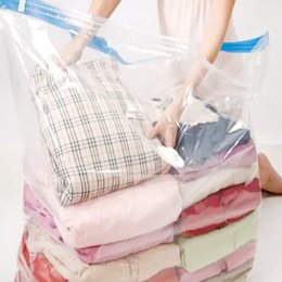 Vacuum sealed clothes storage online shopping - Hot Large Vacuum Storage Bag X100cm cm cm cm Compressed Space Saver Seal Bags hot new
