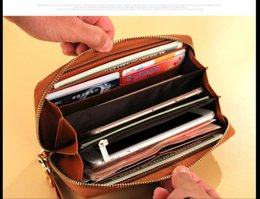 $enCountryForm.capitalKeyWord NZ - the fashionest style Free Shipping! Fashion designer clutch Genuine leather wallet with dust bag The large capacity