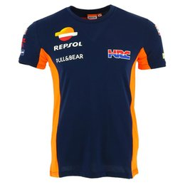 Gps t online shopping - Repsol Gas Moto GP Team T Shirts Racing Clothing Motorbike Motorcycle motogp Riding Drivin T shirt short sleeve