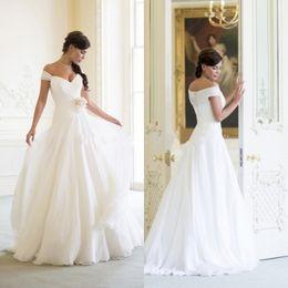$enCountryForm.capitalKeyWord NZ - Graceful women white and ivory plus size beach wedding dresses boho bridal gowns sweetheart robe de mariee vestido de novia
