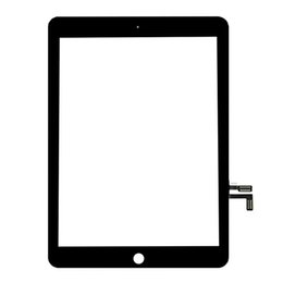 Wholesale 10 stücke für ipad 9.7 (2017 version) ipad 5 5th gen a1822 a1823 touchscreen digitizer frontaußenverkleidung glas