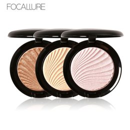 Chinese  FOCALLURE Brand New 4 Colors Ultra Glow Beam Highlighter Palette Powder Makeup Original Highlighter Contour Palette 1226044 manufacturers