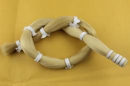 Violin Tail Australia - 250 g Mongolian White Horse Tail Hair in bulk Violin Bow hair high quality