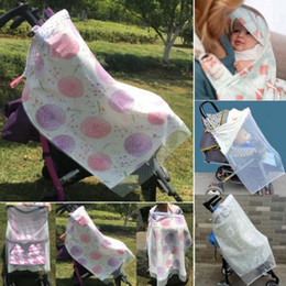 e5c30fc646c 2018 New Baby 3in1 Nursing Scarf Cover Up Apron Summer Breastfeeding Baby  Car Mosquito Net Seat Canopy Cover