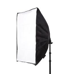 venda por atacado 50 * 70 CM Estúdio de Fotografia Wired Suporte da Lâmpada Softbox com E27 Soquete para Iluminação Contínua Estúdio Com Saco de Transporte