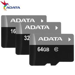 Classe 10 TF Flash Cartão de Memória C10 16 GB 32 GB 64 GB Para Android Celulares Câmeras Tablets PC com Adaptador SD Pacote de Blister de Varejo venda por atacado