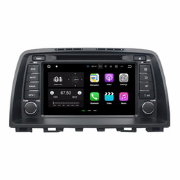 "jpeg player NZ - 2GB RAM Quad Core 8"" Android 7.1 Car DVD Car Audio DVD Player for Mazda 6 2012 2013 2014 With Radio GPS WIFI Bluetooth 16GB ROM DVR"