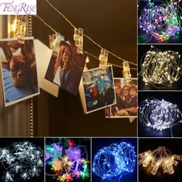 discount celebration christmas lights 10pc photo clip led lights wedding decoration christmas party decorations celebrations