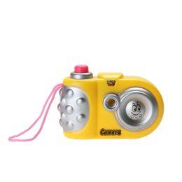 $enCountryForm.capitalKeyWord Australia - Kids Cartoon Projection Camera Toy Baby Muilti Pattern Light Projection Camera Educational Study Toys for Children Random Color