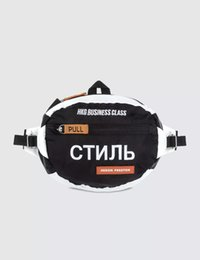 China 2018 HP Heron Preston ACW alyx canava waist bag Inclined shoulder bag messenger transparent bags canavas mini Utlity Hardware 666 cheap mini hp suppliers