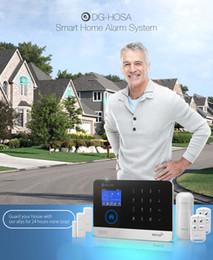 DIGOO DG-HOSA Sem Fio GSMWIFI Inteligente Em Casa Sistemas de Alarme de Segurança Kits Infravermelho Sensor de Movimento Da Porta Alerta com Controle APP em Promoção