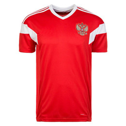 cee86d5bbe1 2018 World Cup Soccer Jersey Unisex Short-sleeved T-shirts Thai Version  Quality Soccer Sportwear Casual Shirt for Men and Women