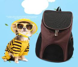 $enCountryForm.capitalKeyWord Australia - Folding Pet Breathable Bag Pet Carrier Portable Travel Carrying Cat Dog Puppy Comfort Travel Outdoor Shoulder Backpack