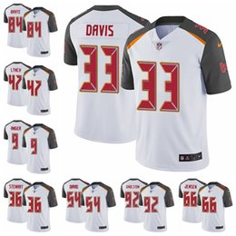 Tampa Bay Limited Road football Jersey Buccaneers White Vapor Untouchable 3  Jameis Winston 13 Mike Evans 22 Doug Martin 15 dd60d6038