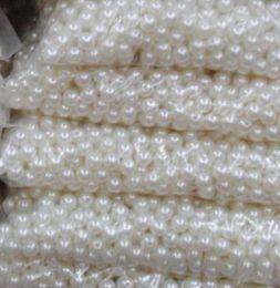 Joyas de ABS suelta perlas de 8 mm para collares Pulseras de bebé Beads para joyería que hace cuentas Joyería China Envío gratis en venta