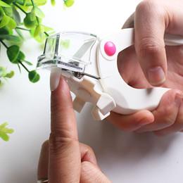 Nail Clipper Cutter For False Nail Manicure Gel UV acrilico False Tips Clipper Edge Cutter Manicure Cutter Clipper Scissors Tool in Offerta