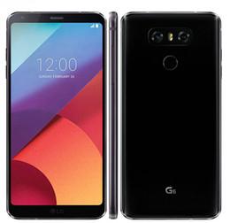 lg lte 4g venda por atacado-Recuperado Original LG G6 VS988 H873 H871 Desbloqueado Cell Phone polegadas Quad Core GB GB MP Dual Camera G LTE