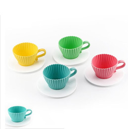 Discount Tea Cup Cakes | 2018 Tea Cup Cakes on Sale at DHgate.com
