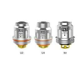 sub ohm coil pack Australia - 100% Authentic Voopoo Uforce Coil head replacement coils U2 U4 N1 FOR Voopoo Uforce SUB OHM Tank 5pcs per pack
