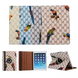 Wholesale For ipad pro Degree Rotation Smart Stand PU Leather Case Cover For Apple ipad Mini Pro Retina