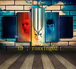 $enCountryForm.capitalKeyWord NZ - Star Trek Beyond,5 Pieces Home Decor HD Printed Modern Art Painting on Canvas (Unframed Framed)