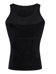 Chinese  2019 new Men's Sexy Slimming Tummy Body Shaper Belly Fatty Thermal slim lift Underwear Men Sport Vest Shirt Corset Shapewear Reducers Men's manufacturers