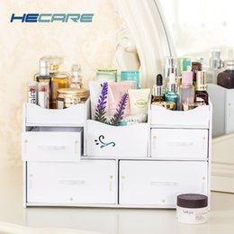 White Makeup Storage Canada   HECARE Plastic Makeup Organizer Waterproof  Cosmetic Container Jewelry Container For Cosmetic
