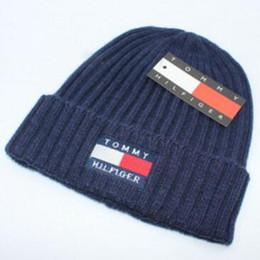 15e9209f2155a Wholesale- couple Knit hat brand design wool winter knit fashion anti-winter  hat men and women wool hat free shipping