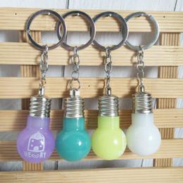 Promotional Electronics Australia - LED luminous flash key clasp acrylic bulb key accessory practical promotional gift gift pendant