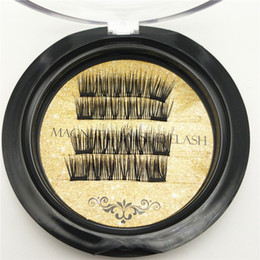 best synthetic eyelashes Australia - 8 style Best quality Gold Double Magnetic Lashes 3D Mink Reusable Fasle Eyelash Without Glue 4pcs=1pairs free Shipping by dhl