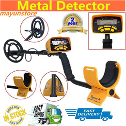 Wholesale Professional MD6250 Underground Metal Detector High Performance Treasure Hunter All Metal Gold Digger Coins Pinpointer Detecting